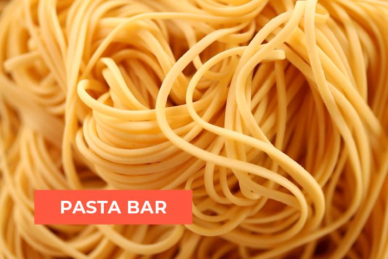 Custom Pasta Bar